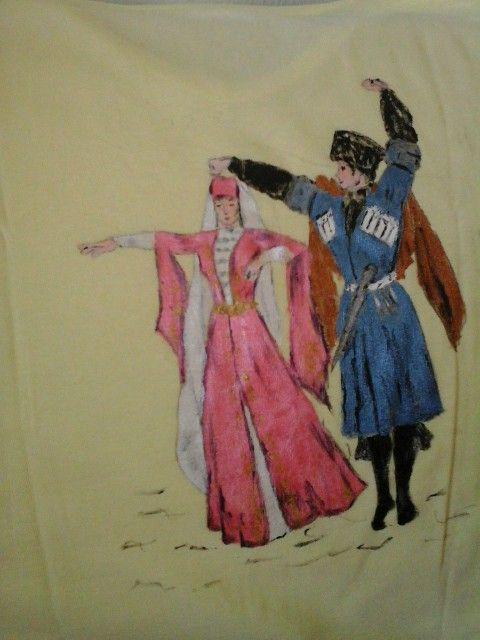 Kafkas figürlü tishirt