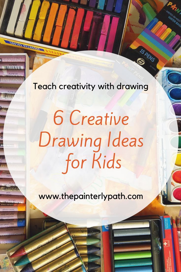 6 Creative Drawing Ideas For Kids Learning Art Drawings