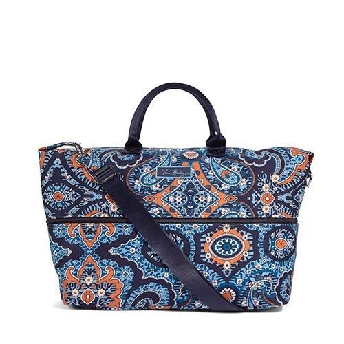 Vera Bradley Lighten Up Expandable Travel Bag in Marrakesh, NWT #VeraBradley