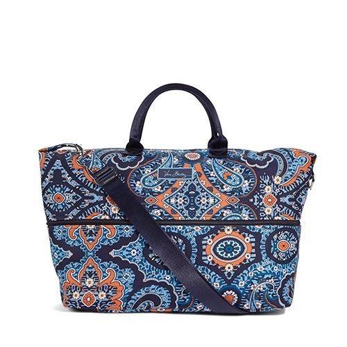 Vera Bradley Lighten Up Expandable Travel Bag in Marrakesh, NWT #VeraBradley