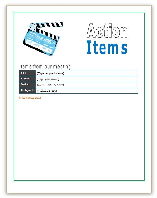 10 Best images about Office Templates – Microsoft Office Agenda Templates