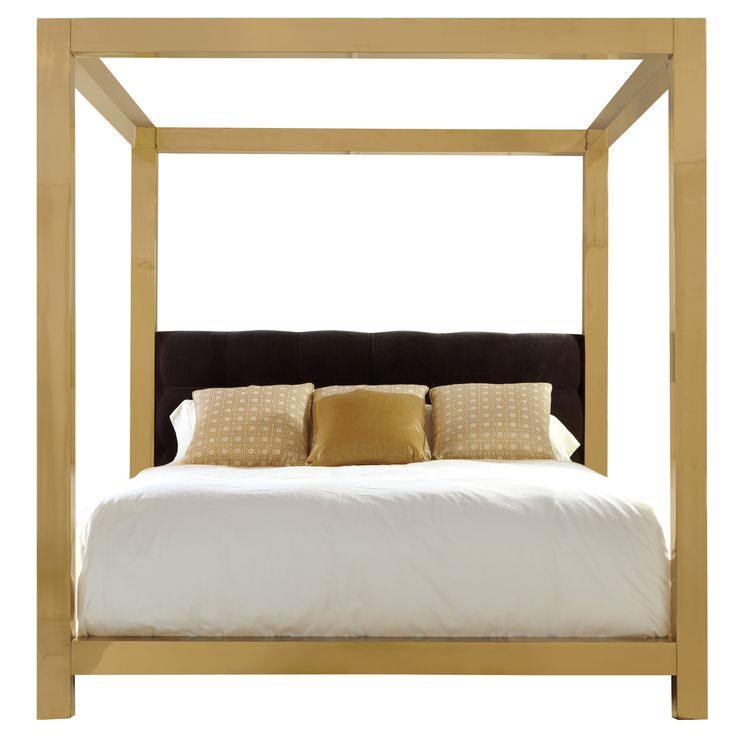 metal canopy bed bernhardt
