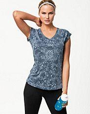 Nike Printed Miler V-neck
