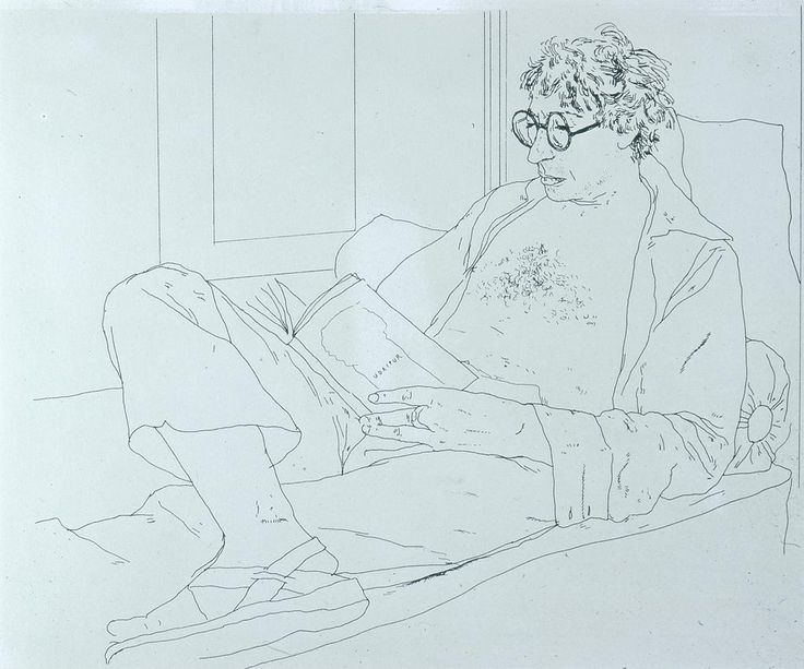 David Hockney Drawings | David Hockney