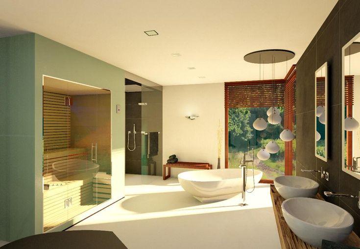 Badezimmer 20 QM #waschtisch #waschbecken #holzwasch ...