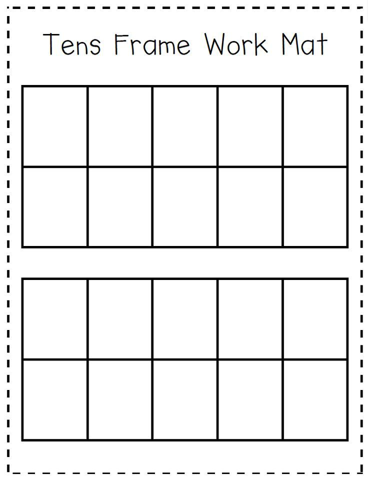 Image Result For 5 And 10 Frame Activities For Kindergarten Elementary Math Math Addition Ten Frame