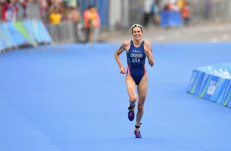 Gwen Jorgensen - Gold, triathlon, 2016