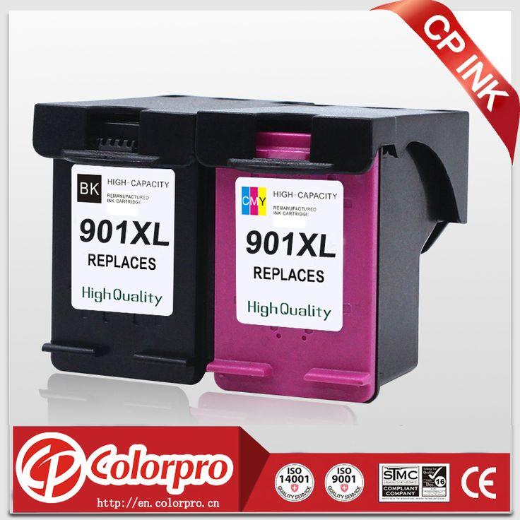 1BK+1C Remanufactured ink cartridge for HP 901 XL Black & Color Ink for Officejet J4500 J4524 J4530 J4540 J4550 J4580 FOR HP901