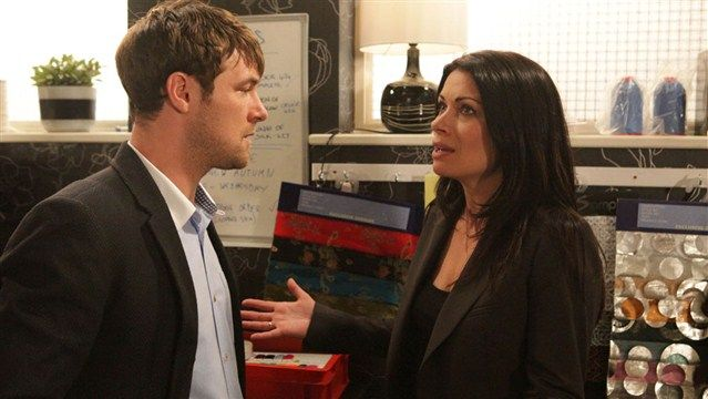 Corrie Spoilers: Marc Baylis reveals that Carla Connor will offer Rob Donovan his job back, but is it enough for the ambitious ex-con? Description from primetime.unrealitytv.co.uk. I searched for this on bing.com/images