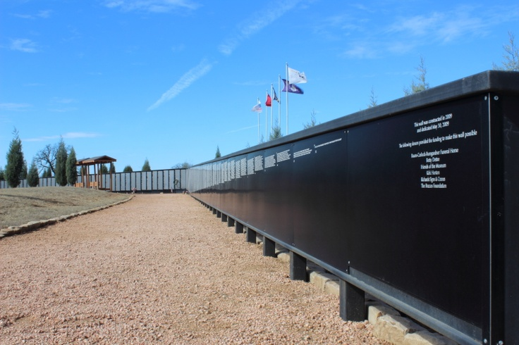 There is now a replica of the Wall in Washington D. C. at the Vietnam War Memorial in Mineral Wells, TX.