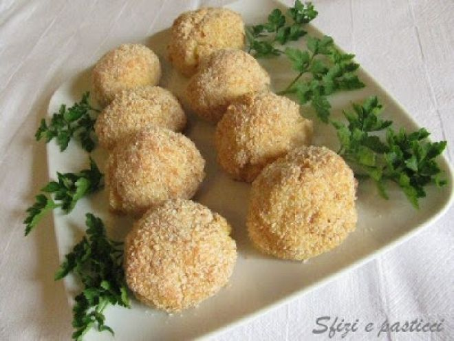 Crocchette di patate con gorgonzola