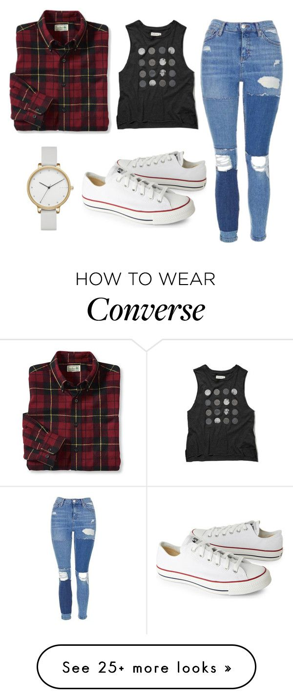"""Wake up you need to make money"" by justkarli on Polyvore featuring Abercrombie & Fitch, Topshop, Converse and Skagen"