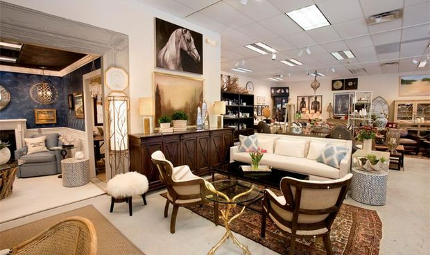 Darby Road Home - a home furnishings store featuring many of today's top designer brands.The expansive 5,000 square foot showroom features vignettes of custom upholstery pieces, case goods, and a curated collection of accessories and fine art. #Modern #Contemporary #Traditional #Refined #Eclectic #Furniture #HomeDecor #Art