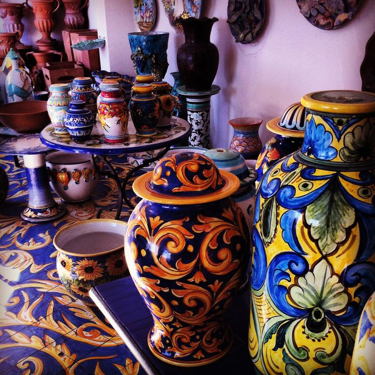 Vietri sul Mare - Ceramiche Solimene - Costiera Amalfitana - Amalfi Coast