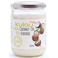 Ακατέργαστο βιολογικό λάδι καρύδας-450 ml (ΕΚΠΤΩΣΗ -15%) Ακατέργαστο βιολογικό λάδι καρύδας-450 ml Οι καρύδες για το λάδι καρύδας KULAU προέρχονται από μικρές γεωργικές εκμεταλλεύσεις στις Φιλιππίνες. Καθ 'όλη τη διαδικασία παραγωγής οι θερμοκρασίες δεν υπερβαίνουν τους 40 ° C. Το Βιολογικό Λάδι Καρύδας KULAU χαίρει ιδιαίτερης εκτίμησης τόσο στην χρήση του στην κουζίνα όσο και ως φυσικό καλλυντικό. Είναι ιδανικό  για κρύα πιάτα όσο και για ψήσιμο, τηγάνισμα και μαγείρεμα, λόγω της…
