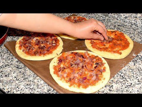 بيتزا باللبن لي كانت عاملة ضجة على الفايسبوك كاتجي جد جد هشة ولا أروع أفضل من العادية جربوها Youtube Food Pepperoni Pizza Pizza