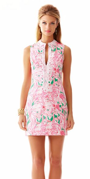 Lilly Pulitzer dress.