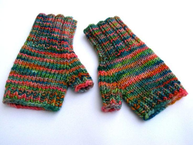 Fingerlose Handschuhe für Kleinkinder 2 bis 3 J. Grün Rosa von frostpfoetchen auf Dawanda. Preis: 13,00 €. Hier klicken für mehr Details