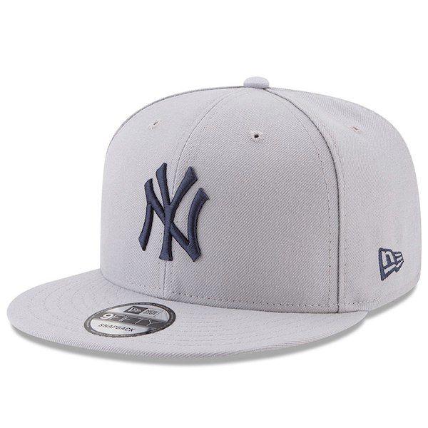 18cbf047d45 Men s New York Yankees New Era Gray 2017 Players Weekend 9FIFTY Snapback  Hat