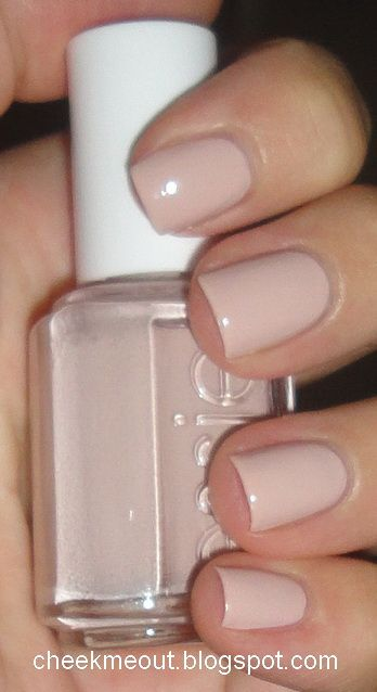 Essie Topless & Barefoot - wearing on my nails now, a perfect beige-y nude. ❤️ this color