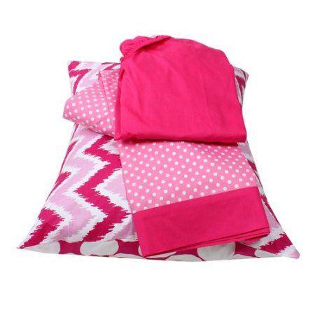 Bacati - MixNMatch 3-Piece 100% Cotton Percale Toddler Sheet Set, Grey