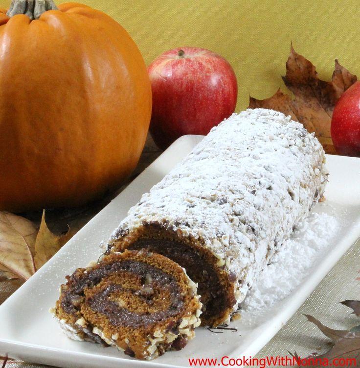 Recipes For Pumpkin Cake Roll