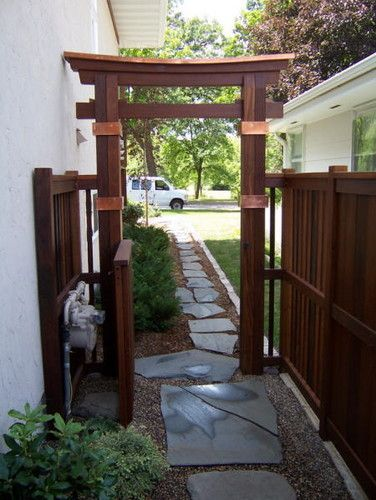 Asian Spaces Front Entry Design, Pictures, Remodel, Decor and Ideas