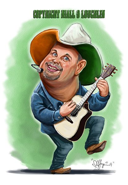 caricatures of country singer | Garth Brooks Garth Brooks Garth brooks caricature