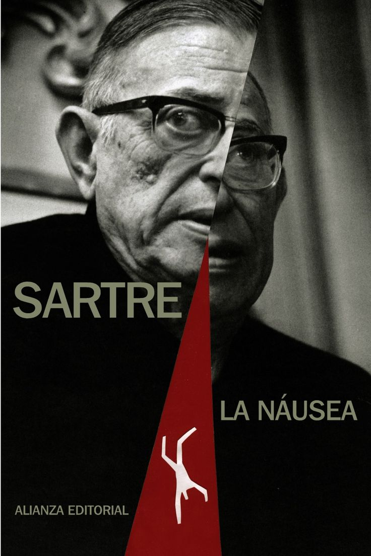 images about jean paul sartre literatura jean paul sartre la naacuteusea alianza editorial 2011