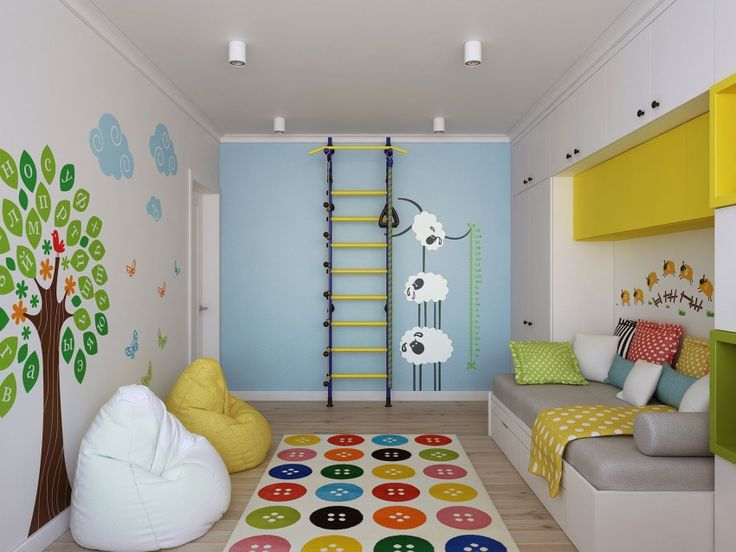 A brand new home in Moscow with a very special kids bedroom and play area