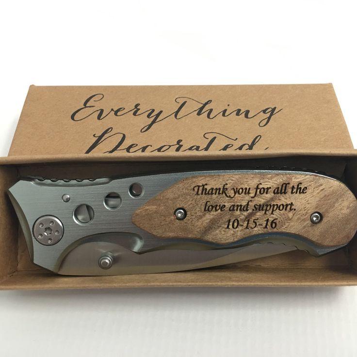 Pocket Knife Wedding Favor