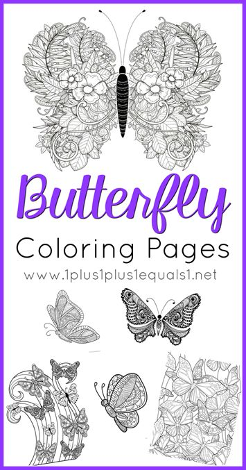 "We have a brand new set of <strong> Butterfly Coloring </strong> printables. These are great for adults who like to color as well as children. The idea behind "" <em class=short_underline> Just Color! </em> "" is simple ~ theme packs all focused around coloring. The coloring pages are all in one download to make it easier to download and print all at once, in case you have coloring monsters like I do! If you want to make a mini coloring book, y..."