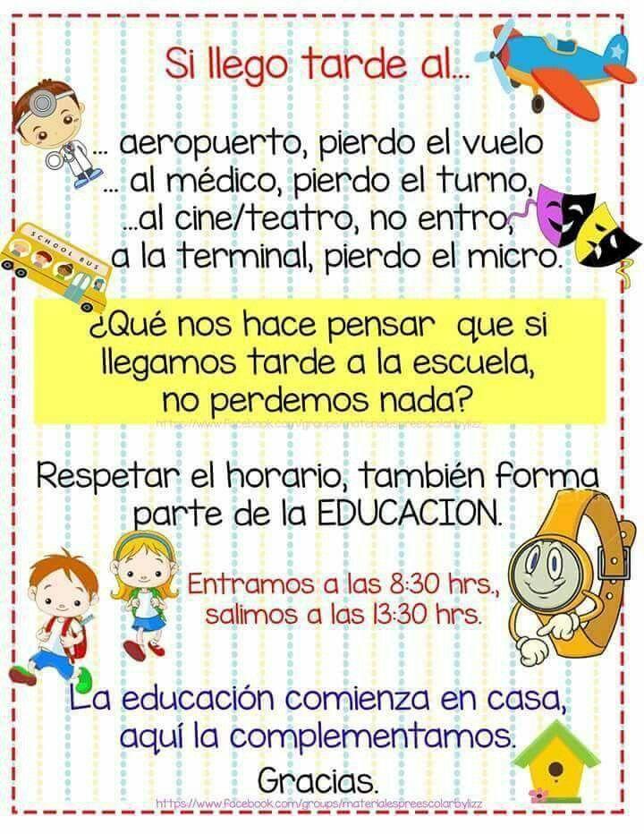 Respetar | PREESCOLAR!!! | Frases de educacion, Educacion ...
