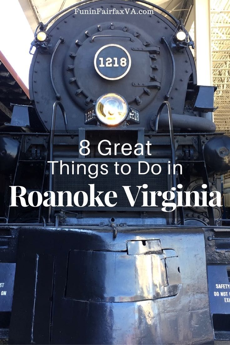 Roanoke #Virginia travel, things to do, places to go, museums, dine and drink. Visitors who travel  to Virginia's Blue Ridge will find a rich collection of museums, delicious local food and drink, and many fun things to do in Roanoke, Virginia. #ustravel #mid-atlantic