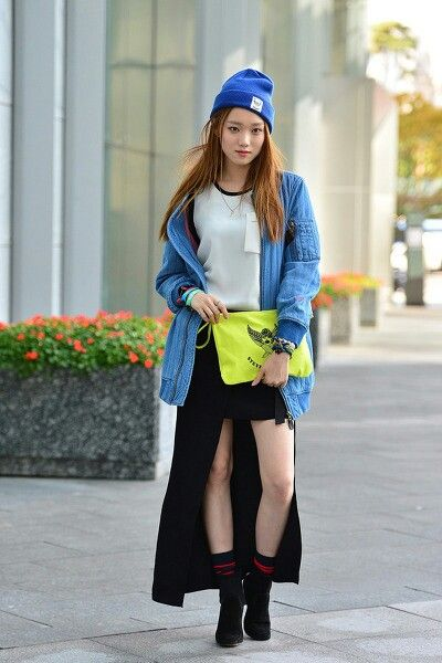 2014 S S Seoul Fashion Week Street Fashion Pinterest