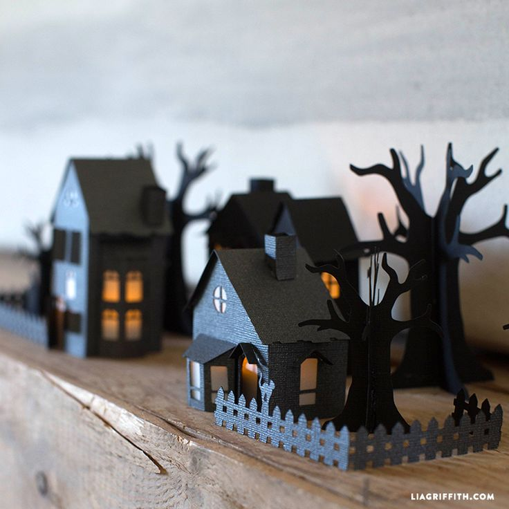 17 Best Ideas About Halloween Paper Crafts On Pinterest