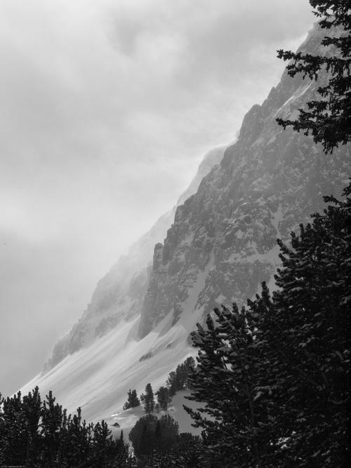 Mountains near Cooke City, Montana