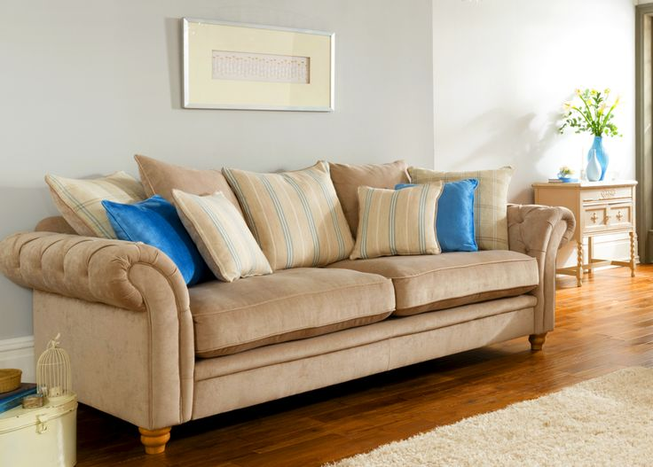 Caressa 4 Seater Sofas Only Luxurious Chesterfield Sofa Styling With A Modern Twist