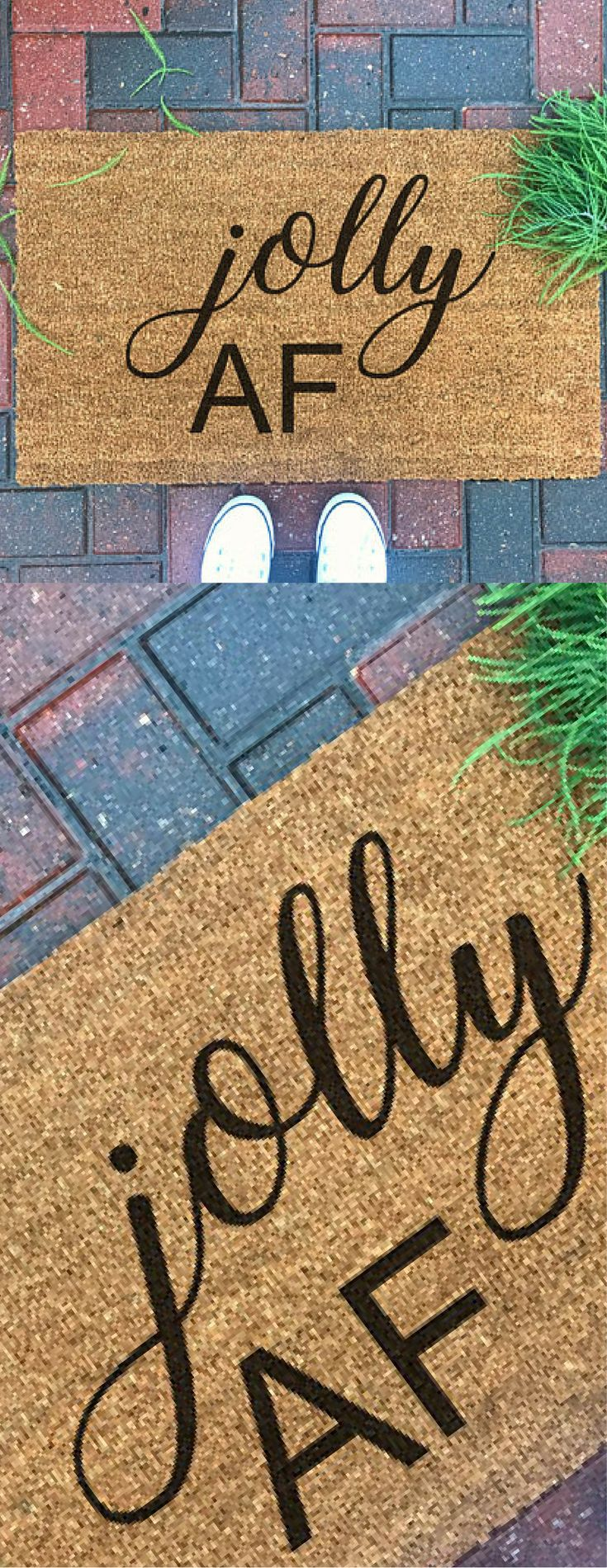 Doormat keep the change you filthy animal doormat photographs : Best 25+ Christmas doormat ideas on Pinterest | DIY Christmas ...