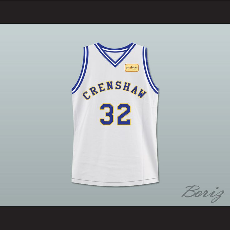 Monica Wright 32 Crenshaw High School Basketball Jersey with Love and Basketball Patch. STITCH SEWN GRAPHICS AND EMBROIDERED PATCH CUSTOM BACK NAME CUSTOM BACK NUMBER ALL SIZES AVAILABLE SHIPPING TIME 3-5 WEEKS WITH ONLINE TRACKING NUMBER Be sure to compare your measurements with a jersey that already fits you. Please consider ordering a larger size, if you prefer a loose fit. HOW TO CALCULATE CHEST SIZE: Width of your Chest plus Width of your Back plus 4 to 6 inches to account for space for…