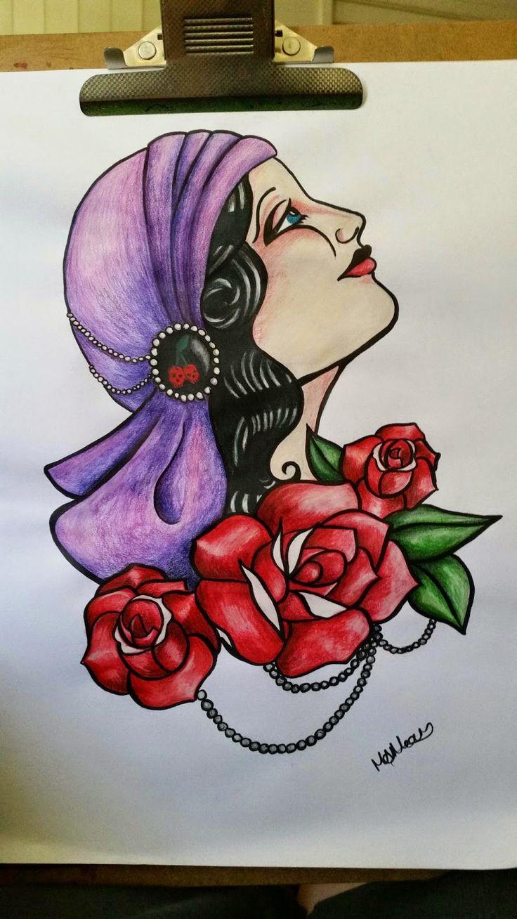 Draw me happy: Gypsy Rose