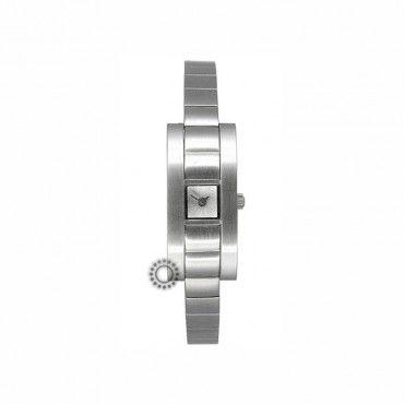 Γυναικείο quartz ορθογώνιο ρολόι EMPORIO ARMANI σαν ατσάλινο βραχιόλι | Γυναικεία ρολόγια EMPORIO ARMANI στο κοσμηματοπωλείο ΤΣΑΛΔΑΡΗΣ στο Χαλάνδρι #Emporio #Armani #ατσαλι #μπρασελε #ρολοι