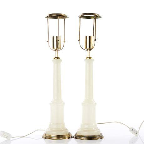 Bordslampa svenslt tenn