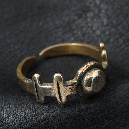 Bronze Roman ring from The Sunken City by DaWanda.com