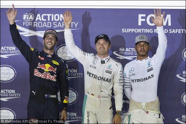 GP Singapore, qualifiche: Rosberg smanettone, Red Bull guizzanti, Vettel ko