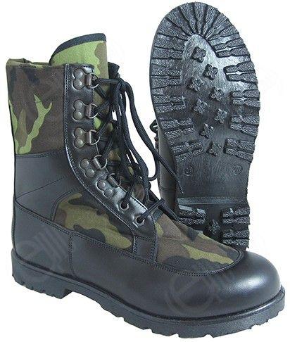 Czech M95 Camo Army Boots