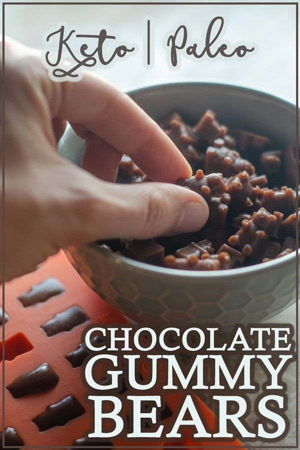 Chocolate-Flavored Stevia-Sweetened Gummy Bears – The Harvest Skillet