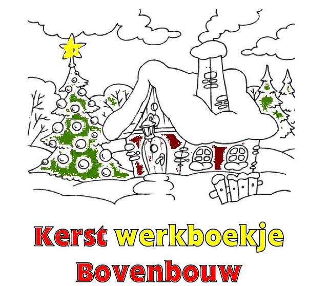 Kerst Werkboekje Bovenbouw School Pinterest Christmas School