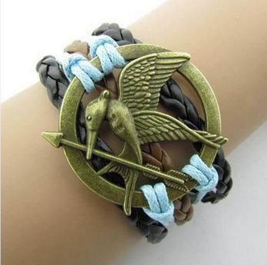 Hand-woven harry potter deathly hallows wings assorted bracelets – High Class Mall