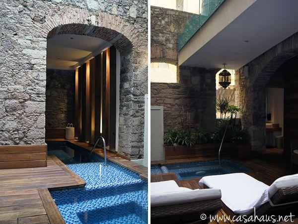 gorgeous pool at Edelmira Boutique Hotel